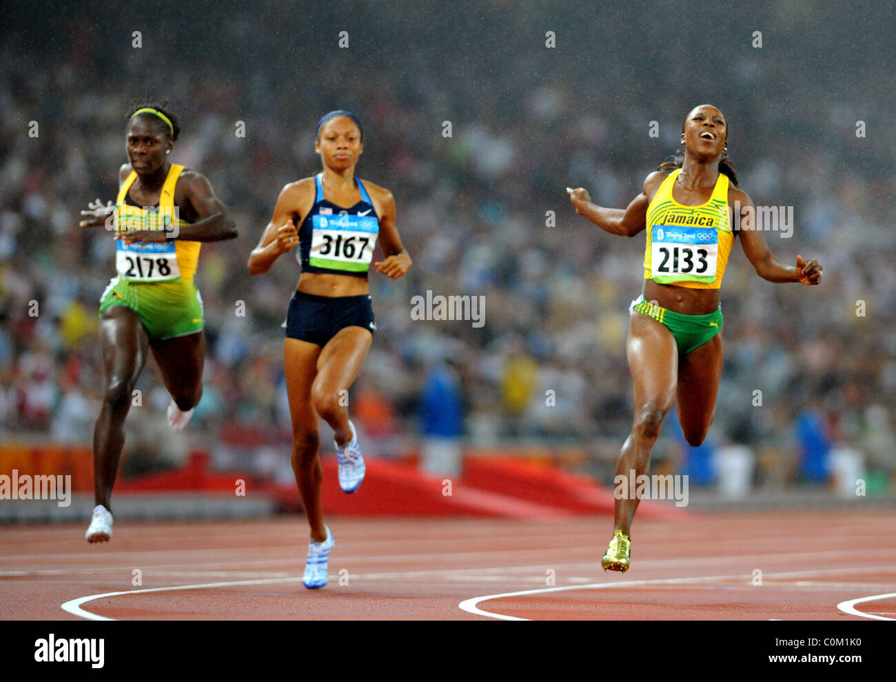 foto Veronica Campbell-Brown 7 Olympic medals