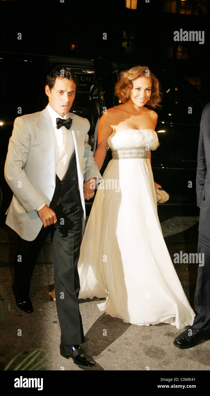 Marc Anthony Arriving At His Surprise 40th Birthday Party With His