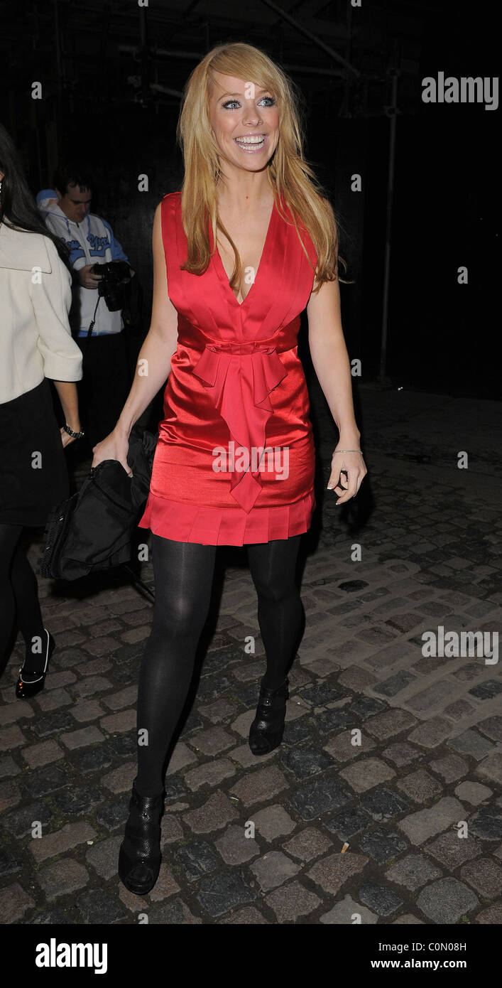Liz McClarnon Company 30th Anniversary Party, held at the Proud Galleries - Departures London, England - 01.10.08 - Stock Image