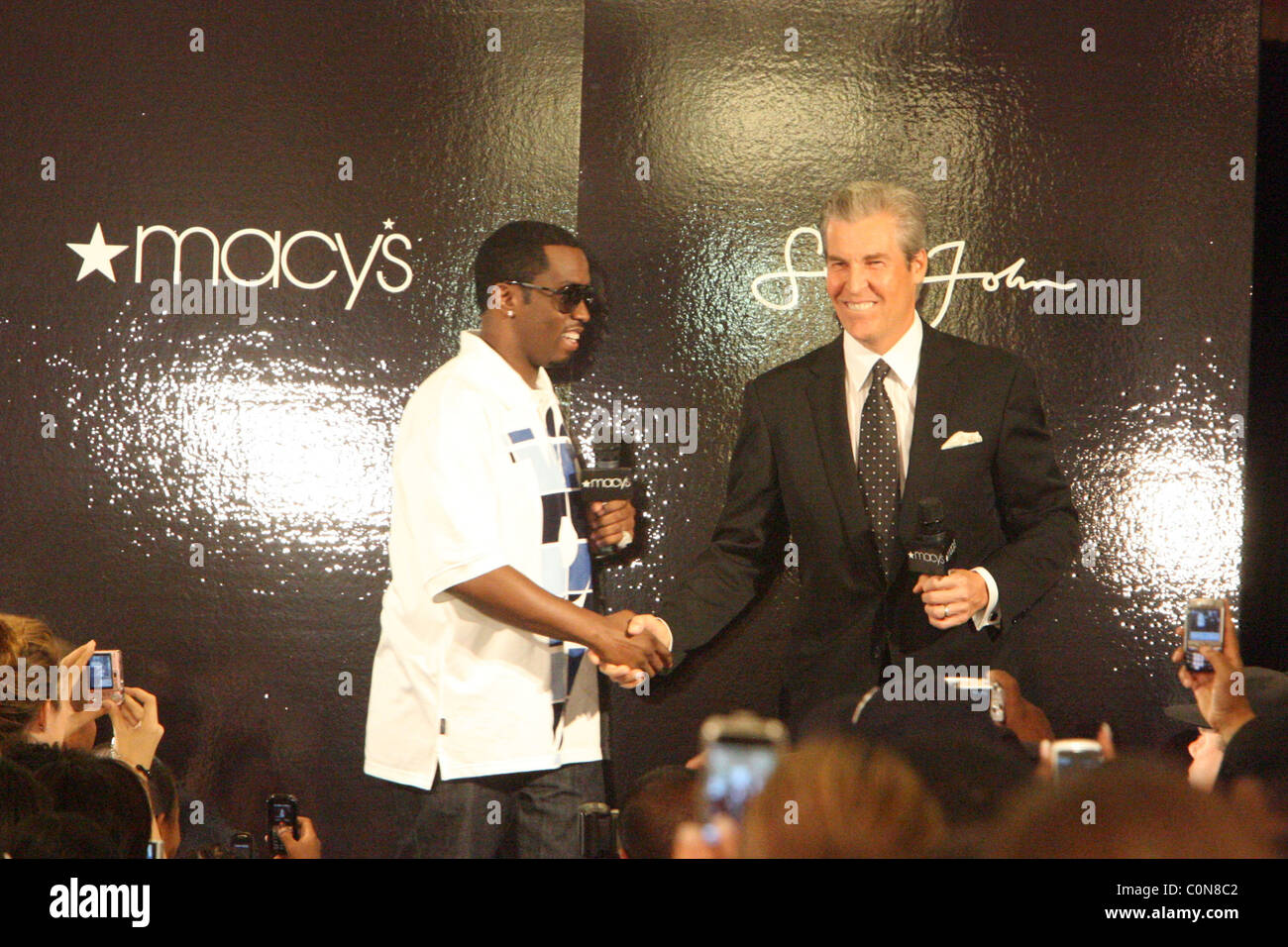 Sean Combs Mercedes Benz Fashion Week Stock Photos & Sean Combs