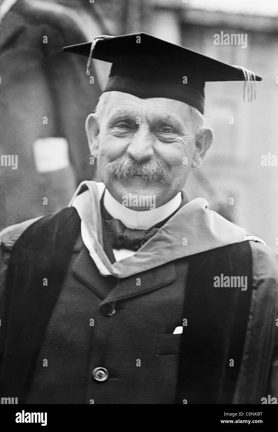 Paul Henri Benjamin Baluet d'Estournelles, Baron de Constant de Rebecque (1852 - 1924) - co-winner of Nobel - Stock Image