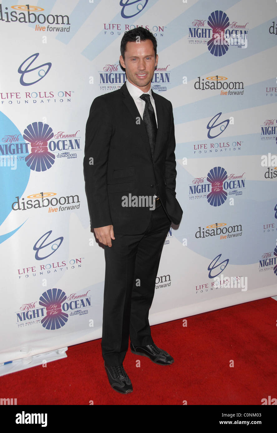 Jeffrey Donovan   Attends Life Rolls On Foundation's 'Night By the Ocean' held at Grand Ballroom at Hollywood & Stock Photo