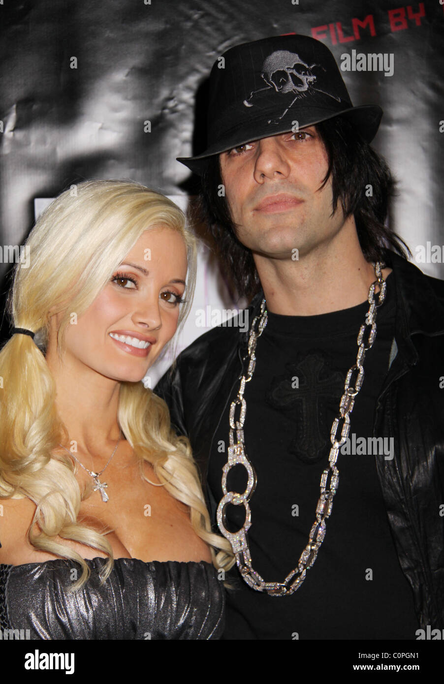 holly madison and criss angel lionsgate premiere of 'repo! the stock