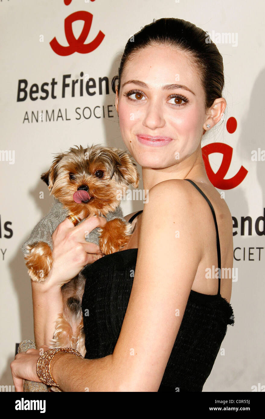 Emmy Rossum 15th Annual Lint Roller Party presented by the Best Friends Animal Society Hollywood, California - 13.11.08 - Stock Image