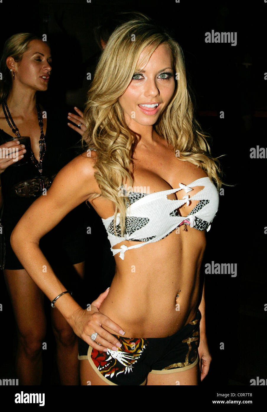 Tami Donaldson hosts the Ed Hardy intimates Fashion Show at Vince Neil's  Dr. Feelgoods Bar