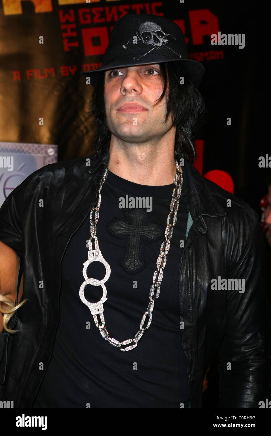 criss angel lionsgate premiere of 'repo! the genetic opera' held at