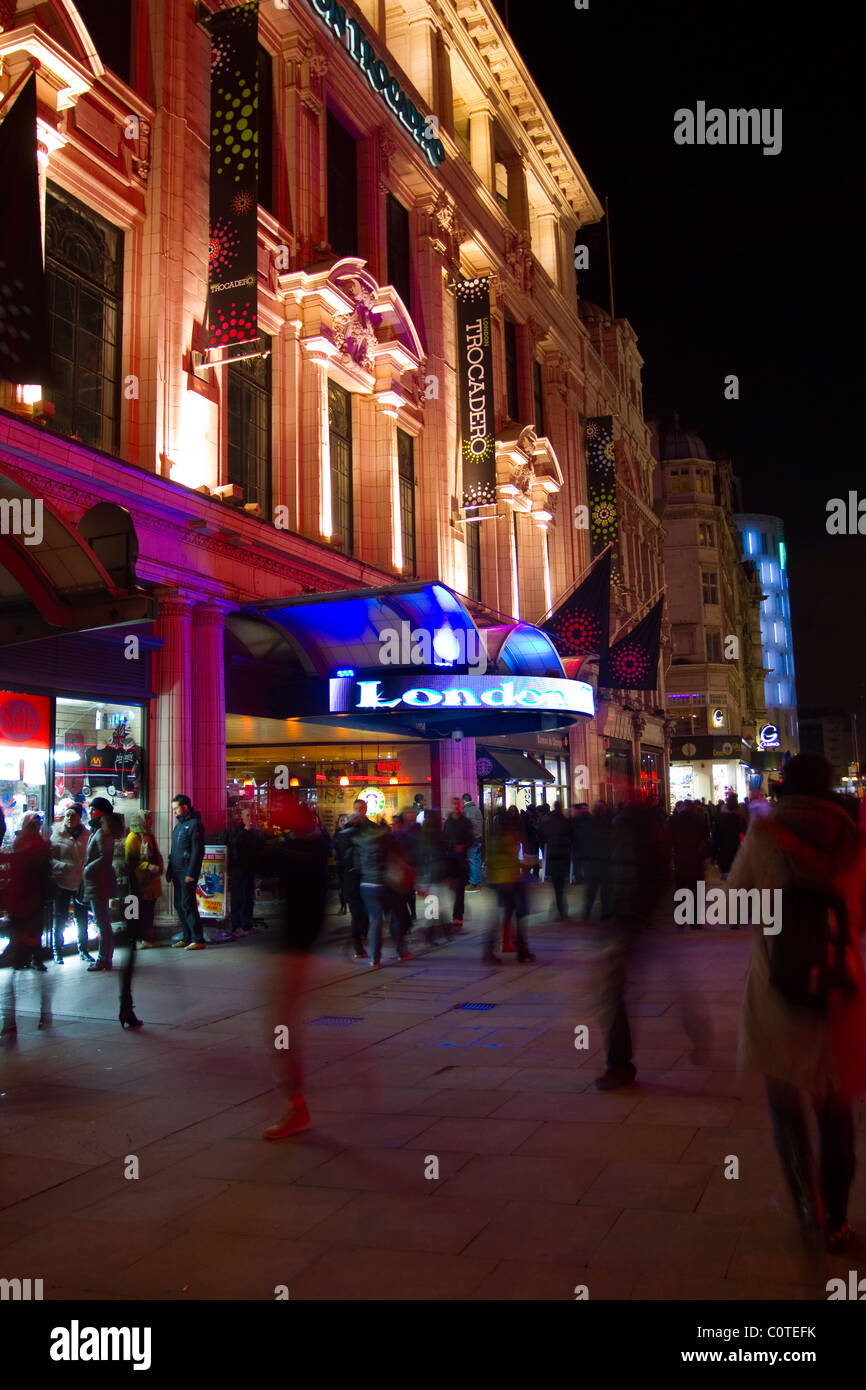 Trocadero Centre, Piccadilly Circus one of London's largest entertainment centres. London  UK - Stock Image