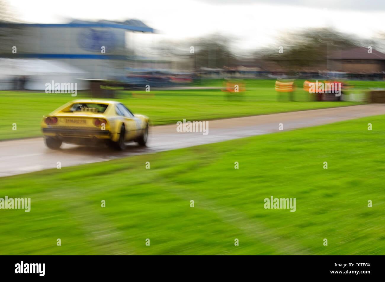 1986 Ferrari 308 GTB, Tony Worswick - Race Retro, Stoneleigh Park - Stock Image