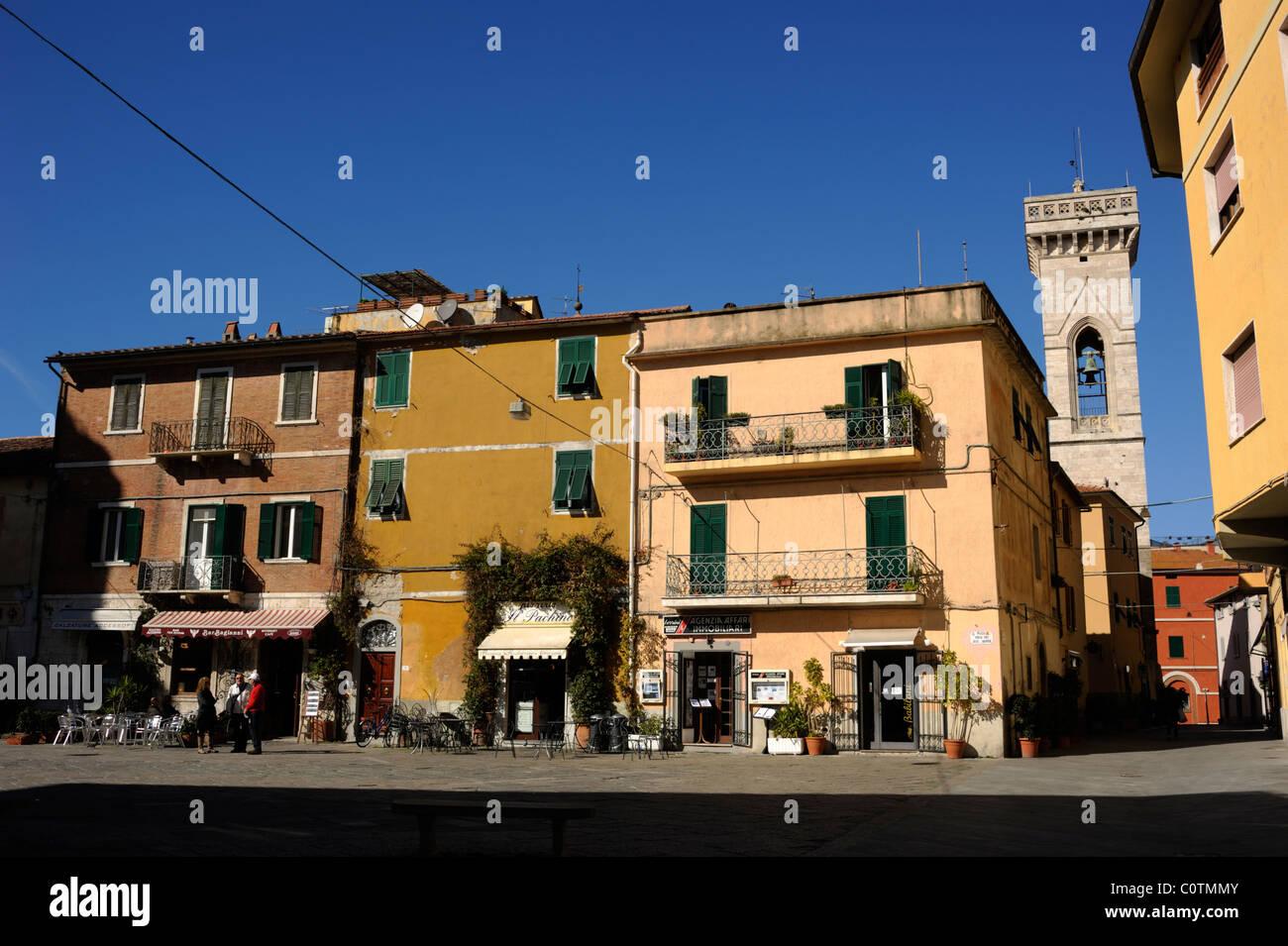 italy, tuscany, orbetello, old town - Stock Image