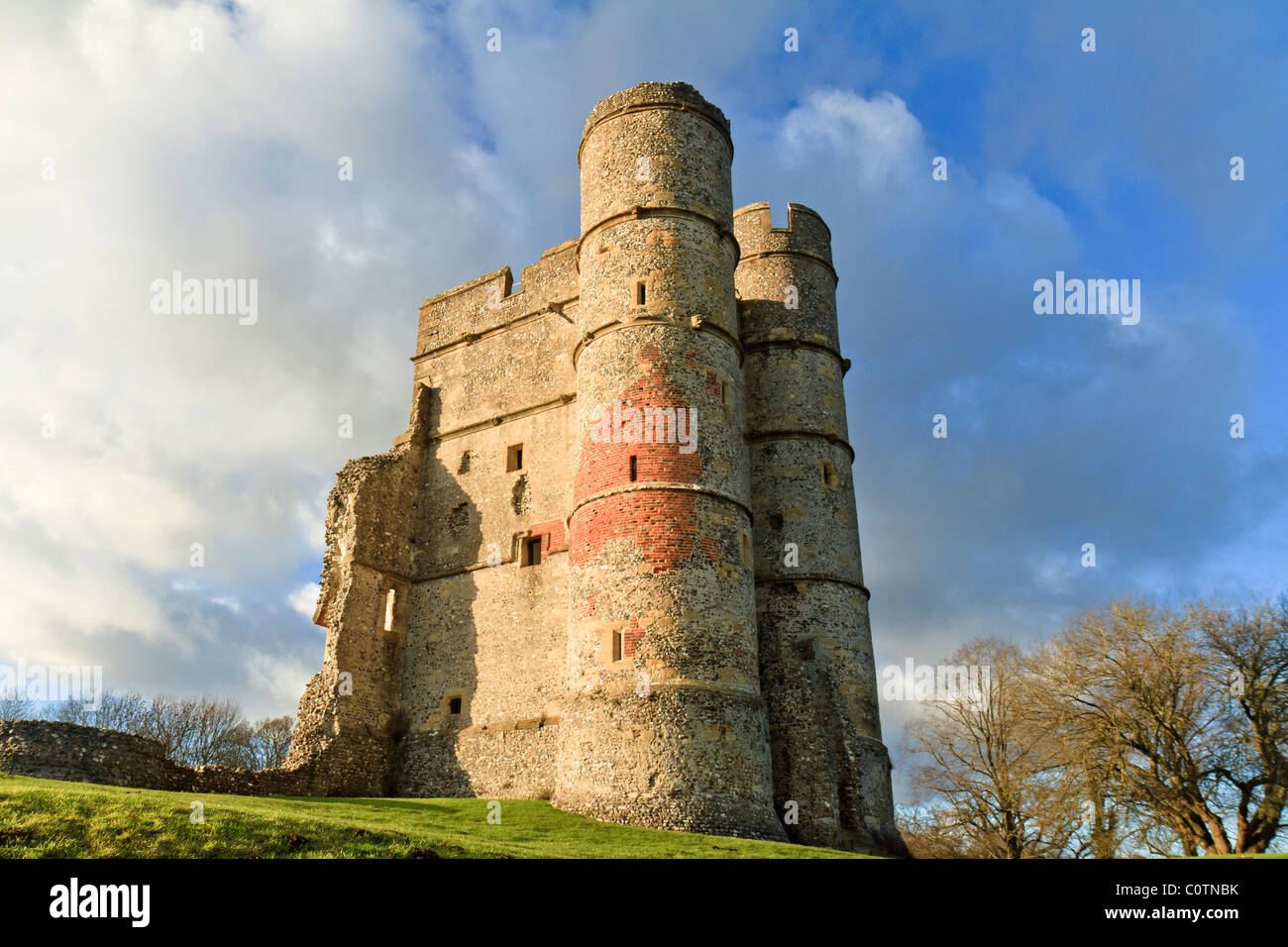 UK Berkshire Donnington Castle - Stock Image