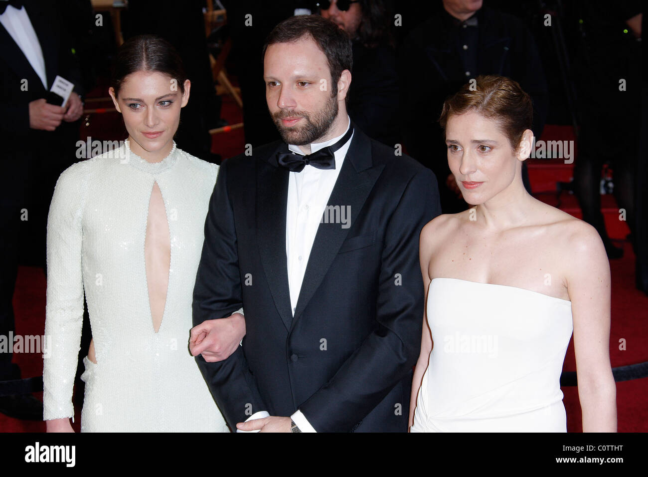 YORGOS LANTHIMOS & GUESTS 83RD ACADEMY AWARDS RED CARPET ARRIVALS KODAK THEATRE LOS ANGELES CALIFORNIA USA 27 - Stock Image