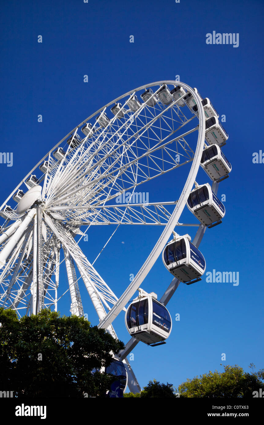 Wheel of Excellence on the V&A Waterfront, Cape Town, Western Cape, South Africa. - Stock Image