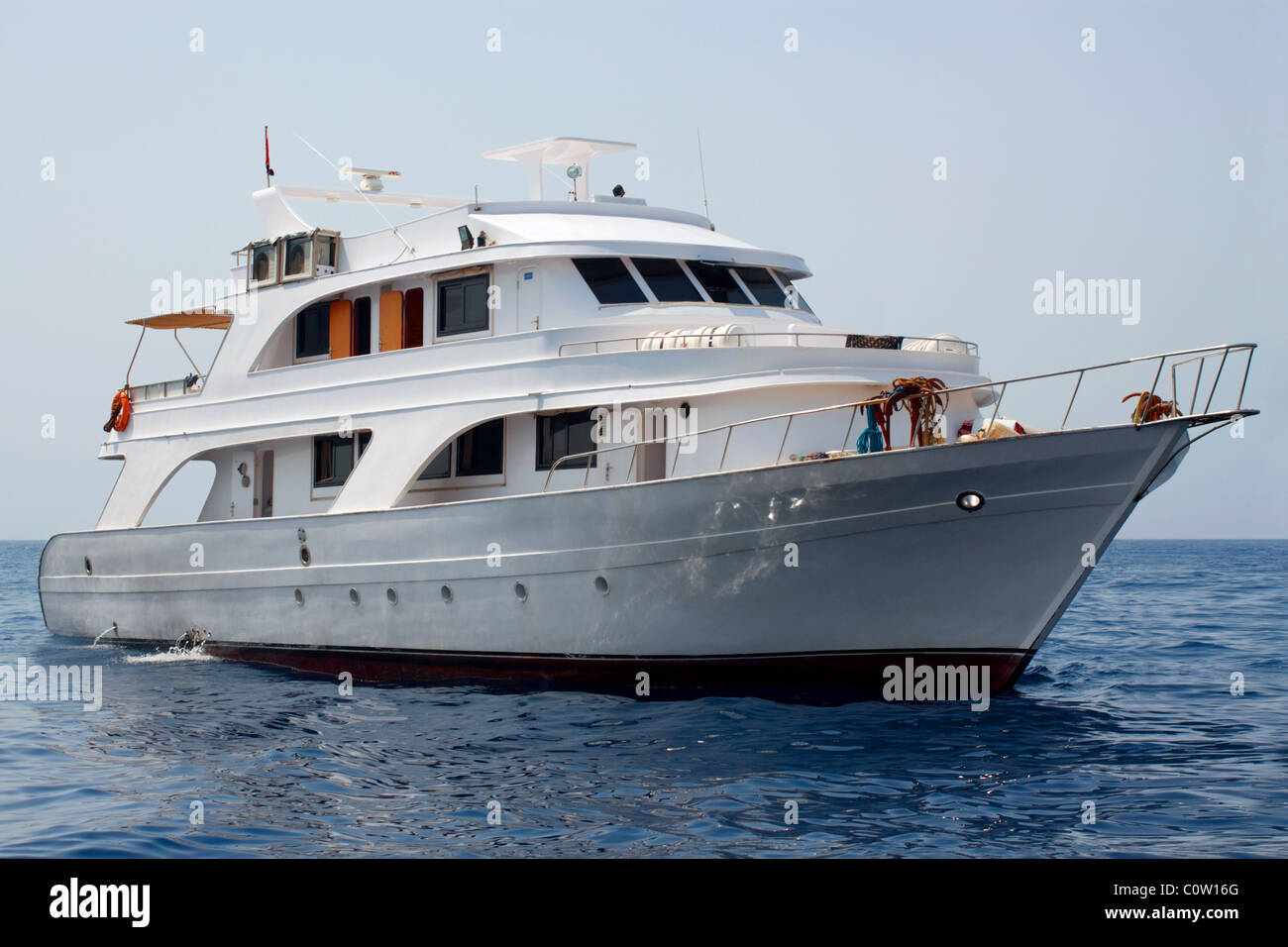 Sea Yacht - Stock Image