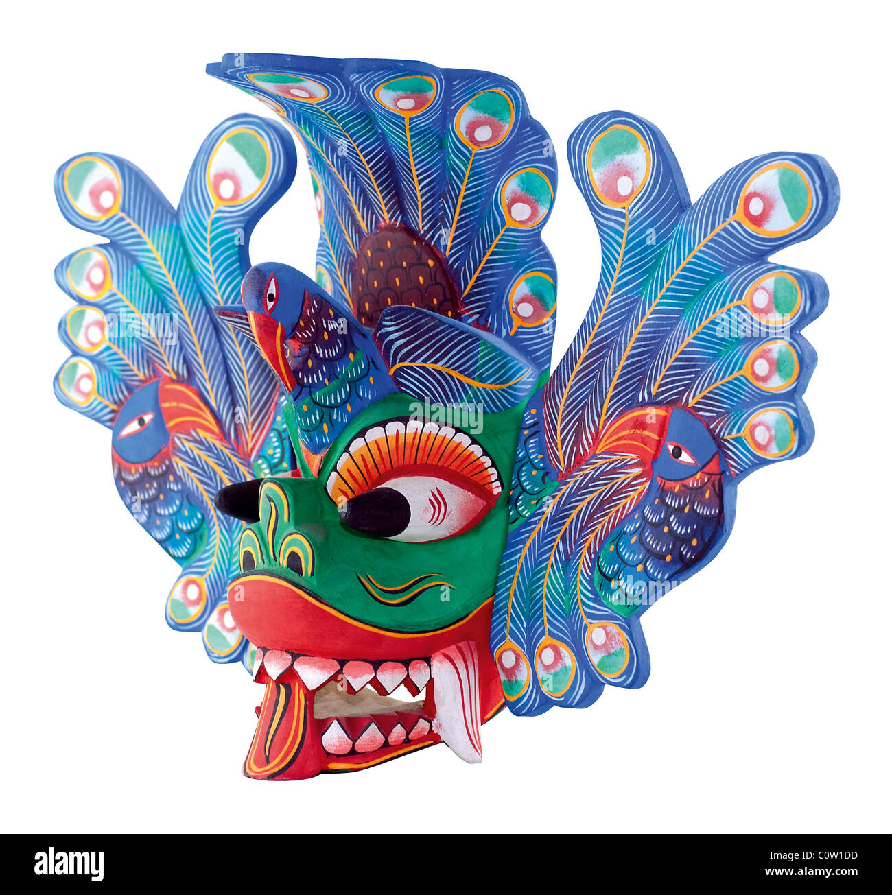 Ceylon Mask - Stock Image