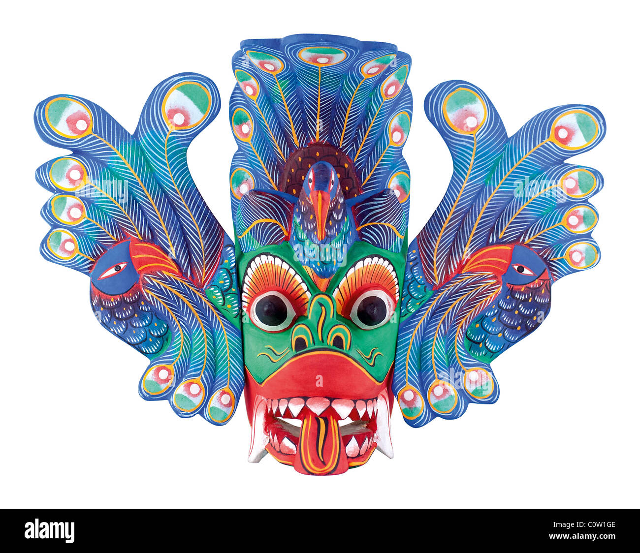 Folk Mask - Stock Image