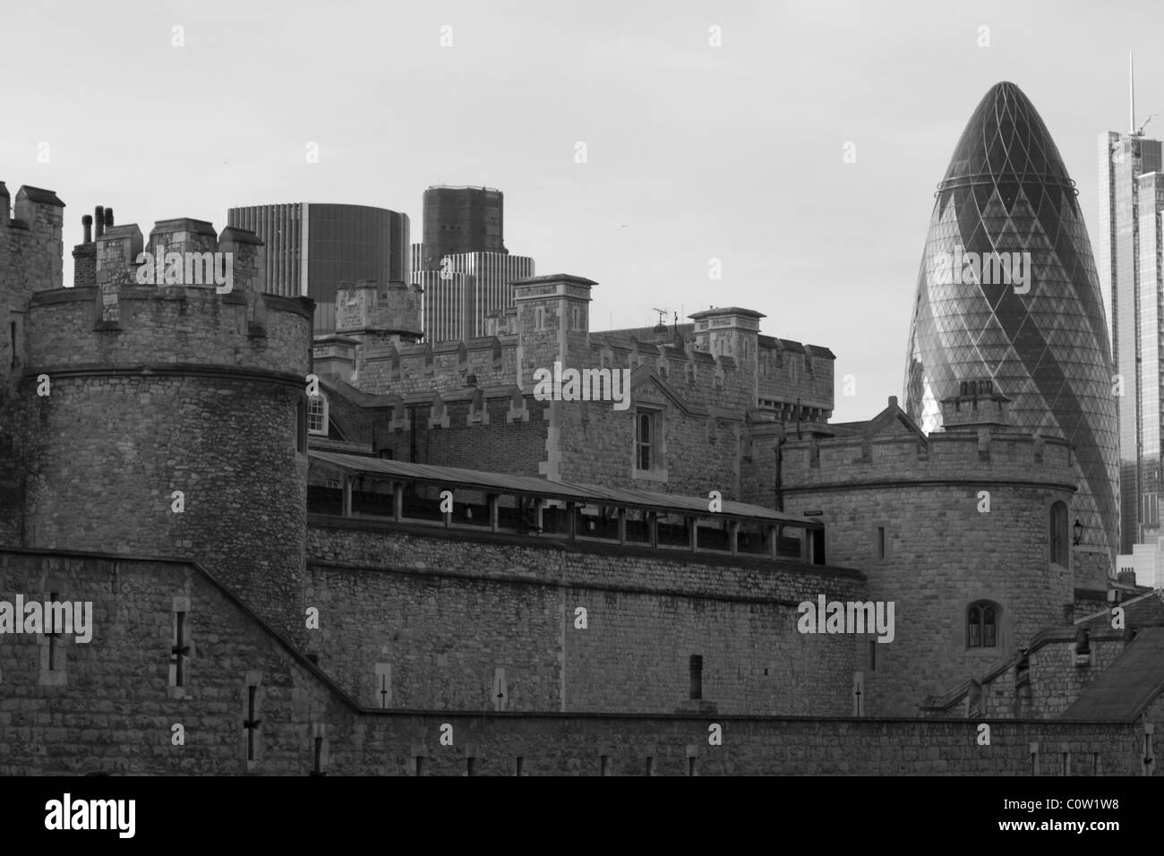 The Tower of London England UK - Stock Image
