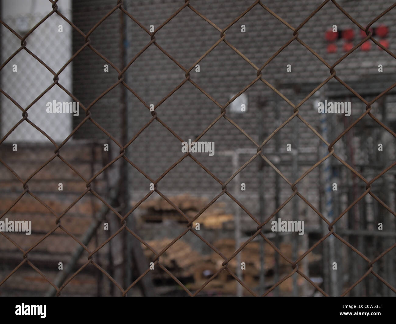 Wire Mesh, close-up Stock Photo