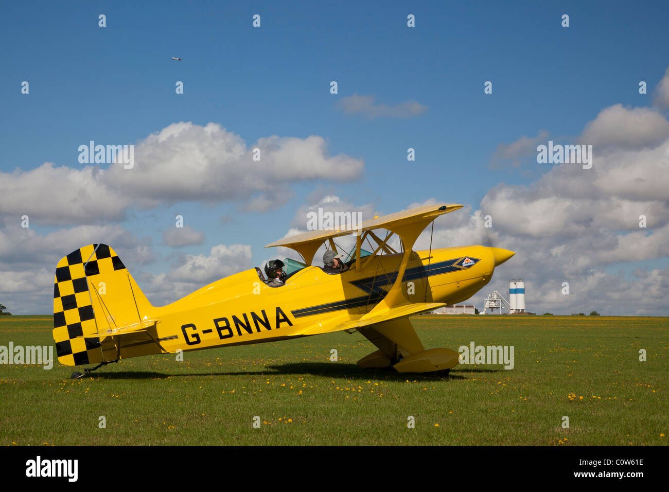 Maxwell Starduster, reg. G- BNNA, at Sywell - Stock Image