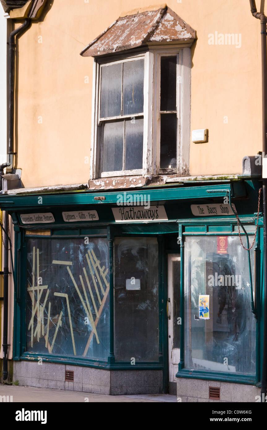Recession hit store in Abingdon, Oxfordshire - Stock Image