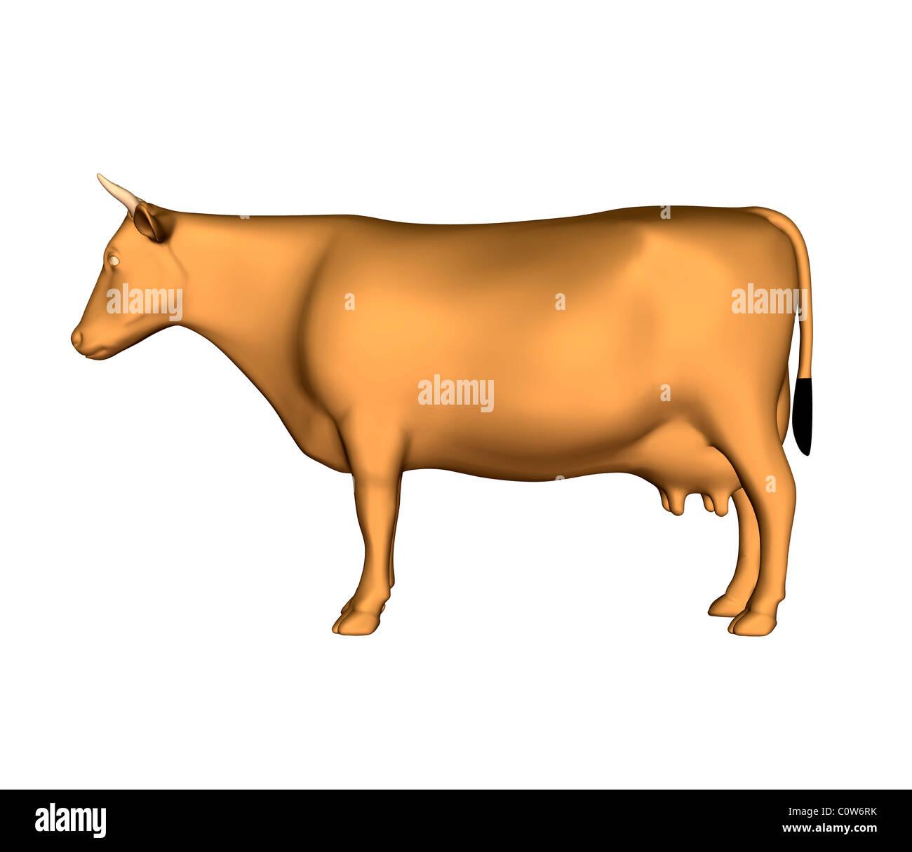 cow - Stock Image