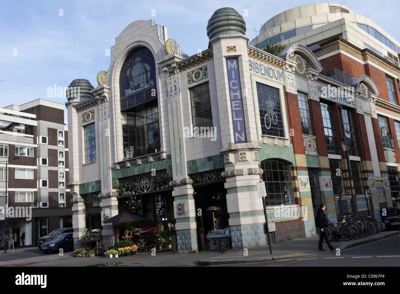 The Michelin Building in Chelsea, viewed here in daylight hours. Stock Photo