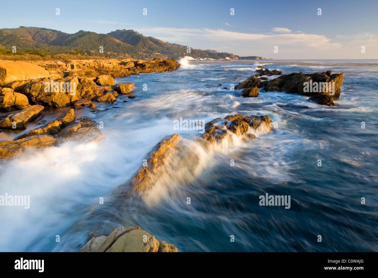 Point Lobos State Park, California. - Stock Image