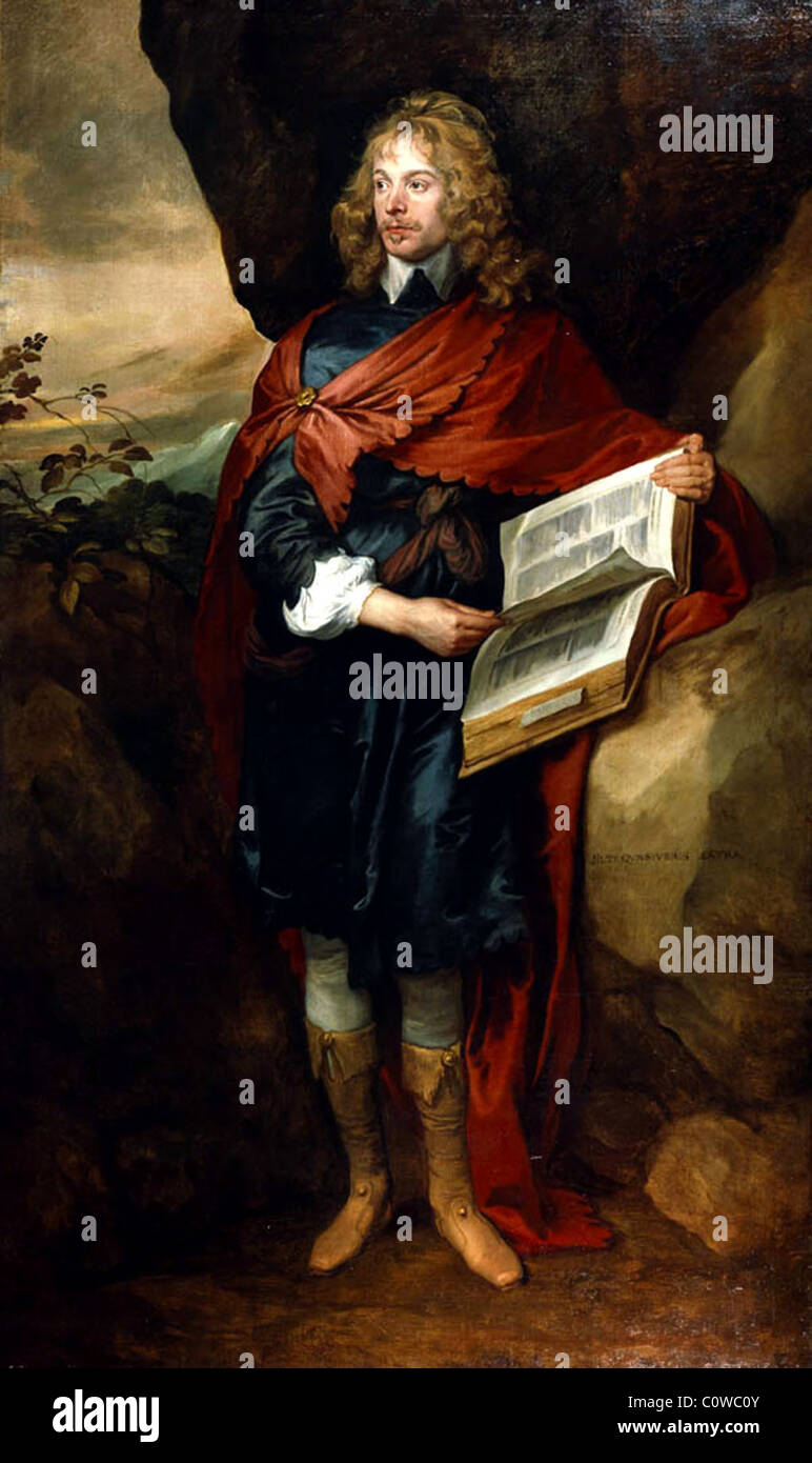 Sir John Suckling, poet - Stock Image