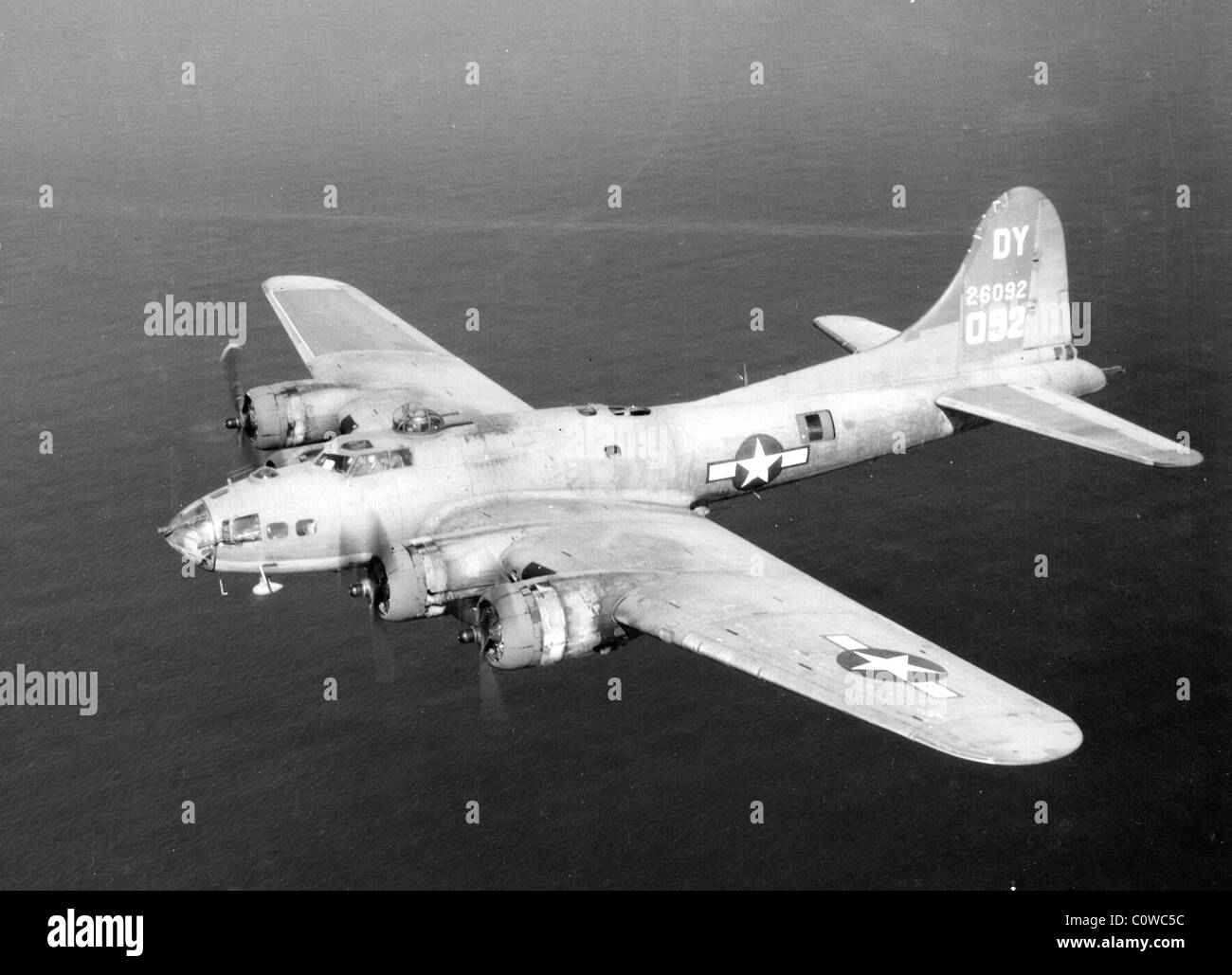 B-17 Flying Fortress - Stock Image