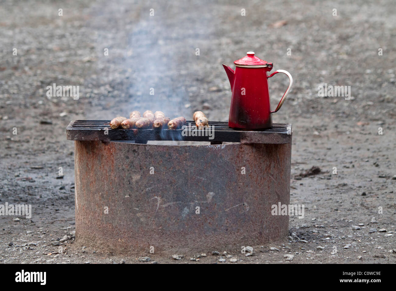 Coffee Pot Percolator Stock Photos & Coffee Pot Percolator