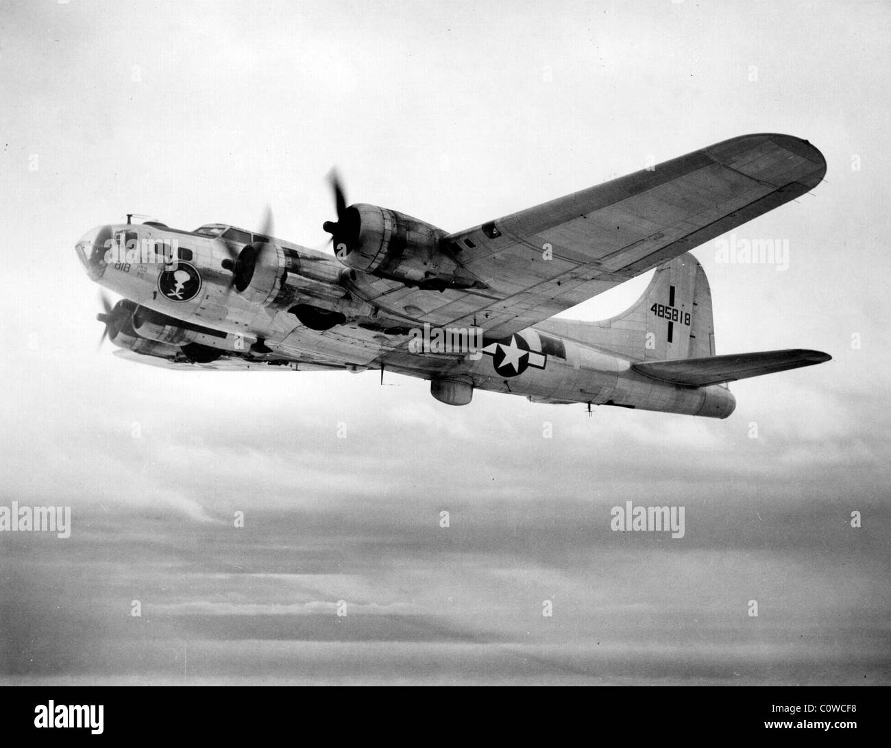 Boeing B-17 Flying Fortress bomber aircraft - Stock Image