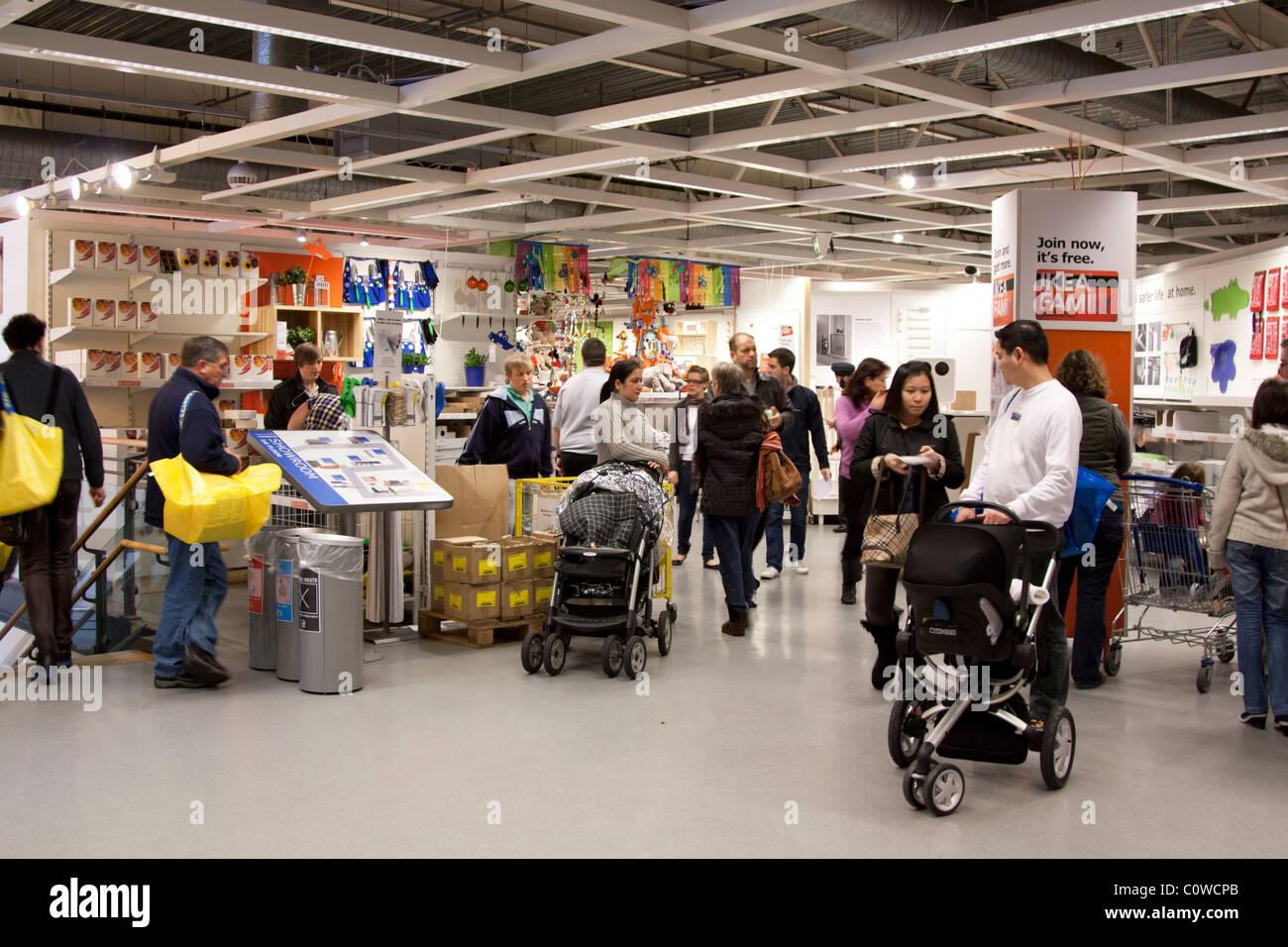 Ikea Store   Wembley   London