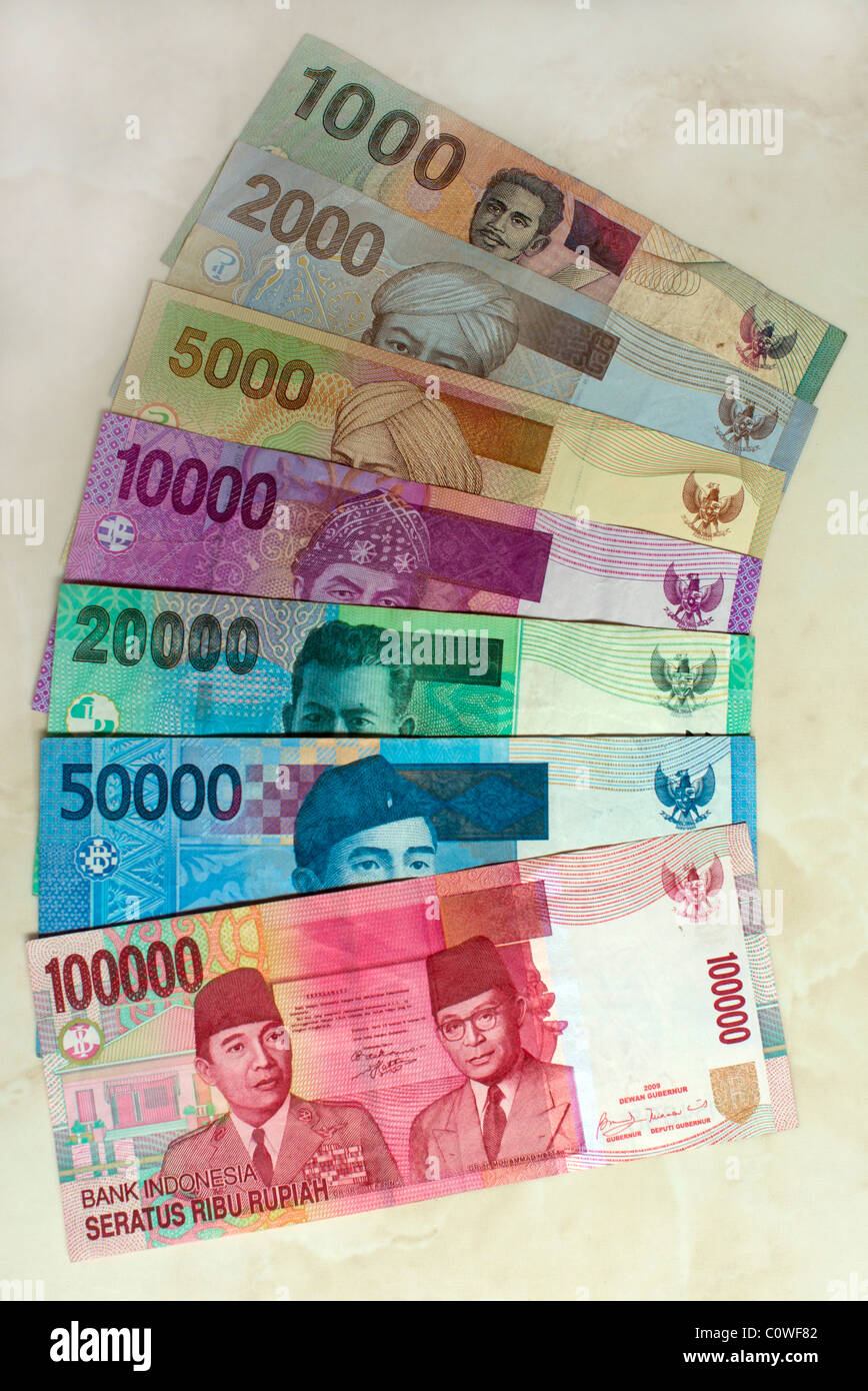 1000 Images About Tarot Art: Indonesian Currency Notes From 100,000 To 1000 Rupiah