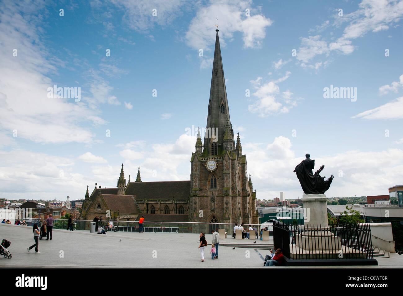 Saint Martin church, Birmingham, England, UK. - Stock Image