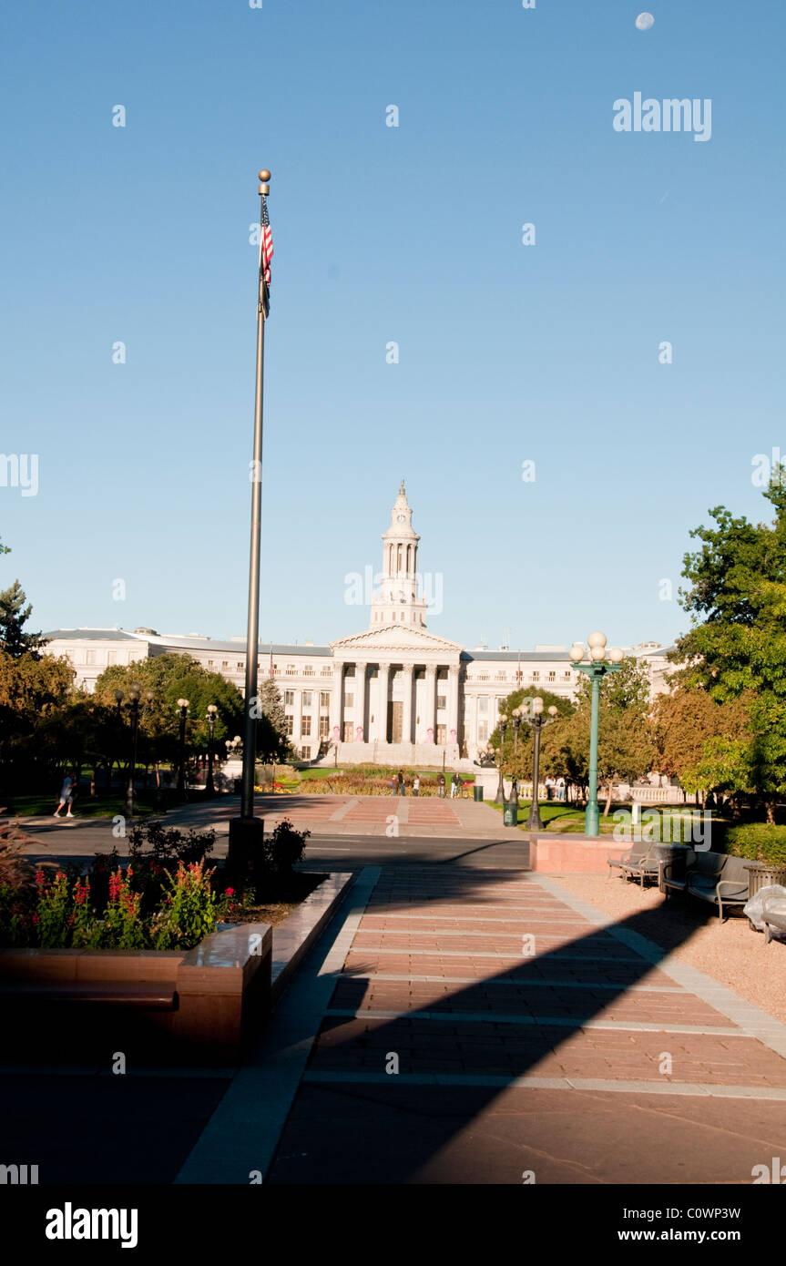 Denver City Council Building,State Capital,Denver,Colorado, USA Stock Photo