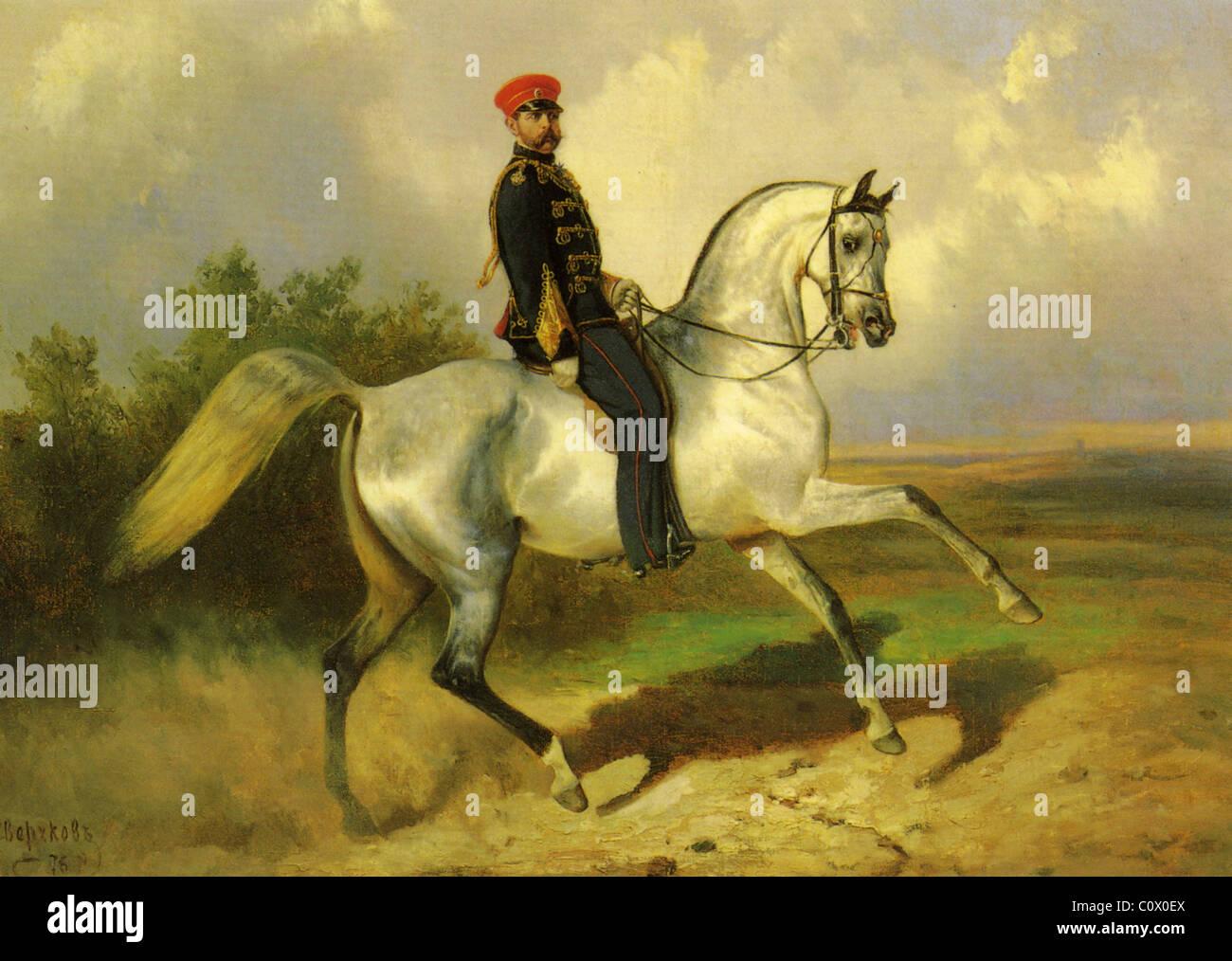 ALEXANDER II (1818-1881) Russian Emperor - Stock Image