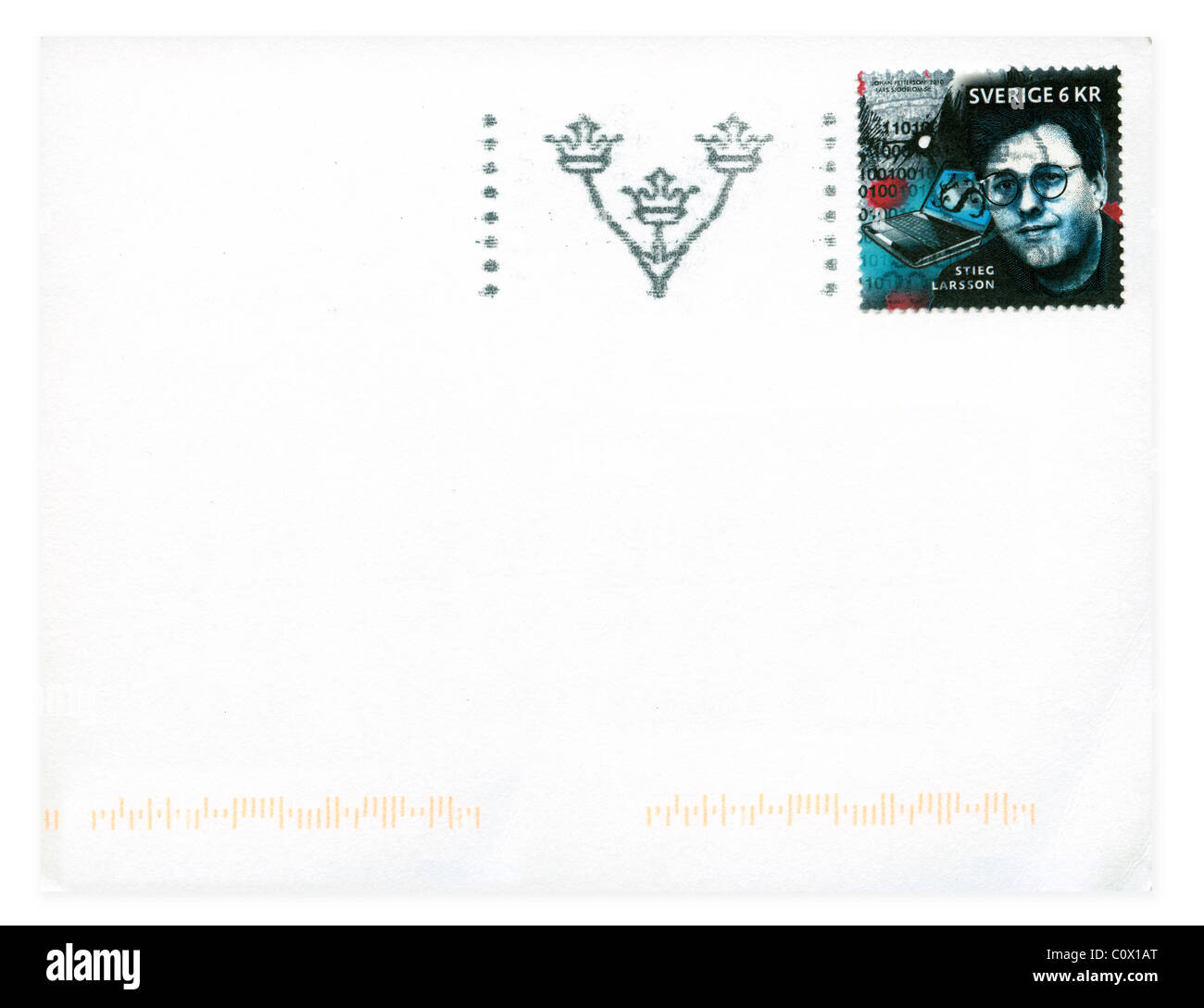 Postage stamp from Sweden in the  Crime Novels series issued in 2010 - Stock Image
