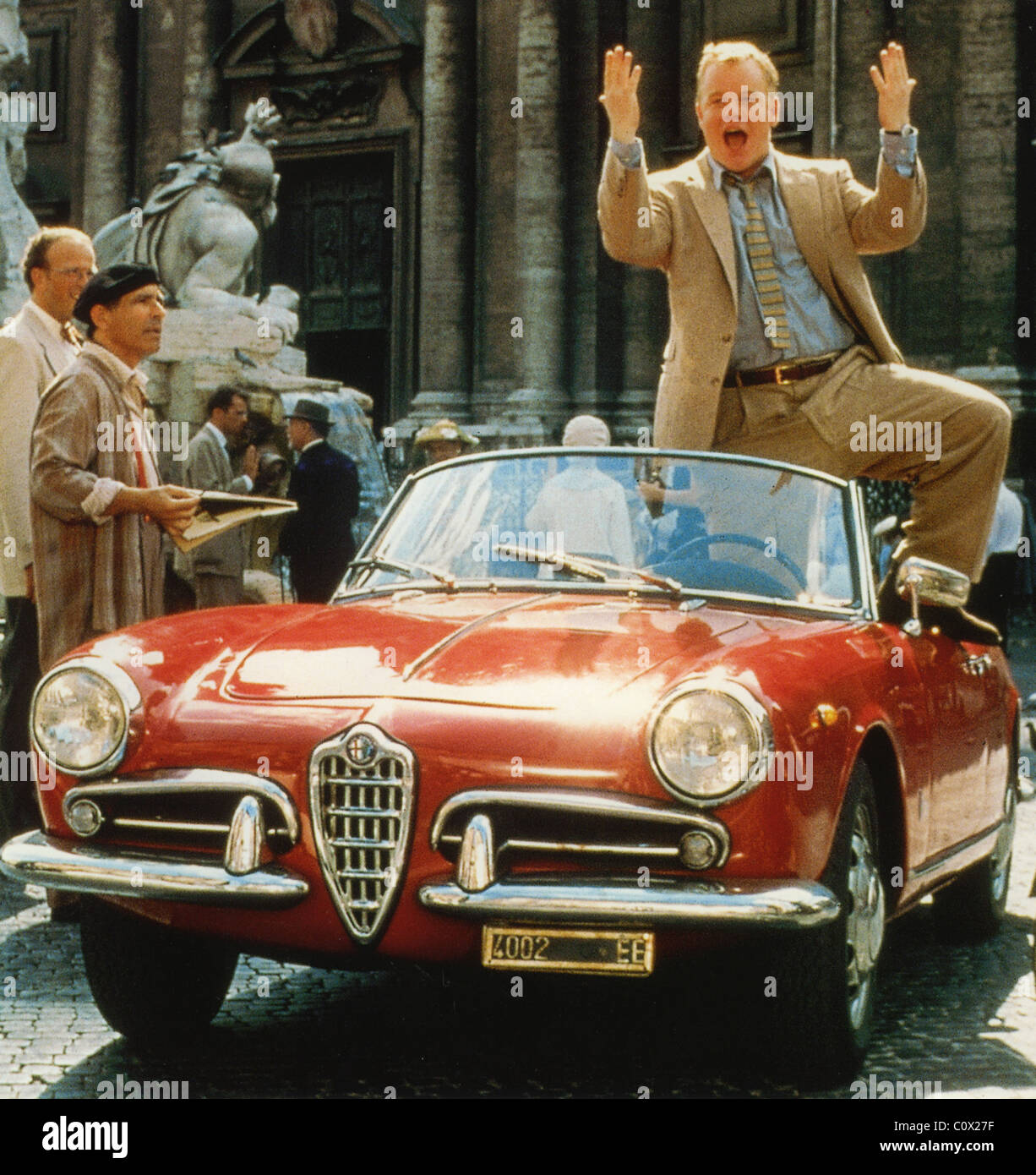 THE TALENTED MR RIPLEY  1999 Paramount film featuring a 1955 Alfa Romeo Giulietta Spider 750D - Stock Image