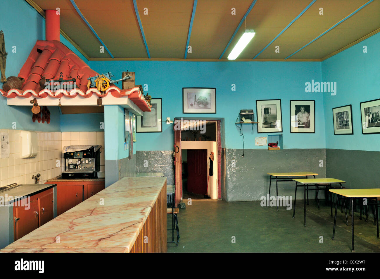 Portugal, Algentejo: Tavern 'Joao das Cabecas' in Castro Verde - Stock Image