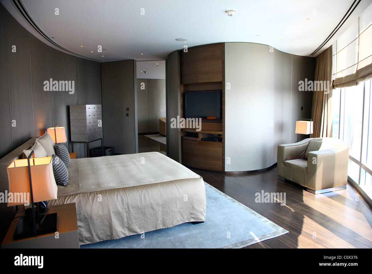 Room Armani Stock Photos Room Armani Stock Images Alamy - Armani bedroom design