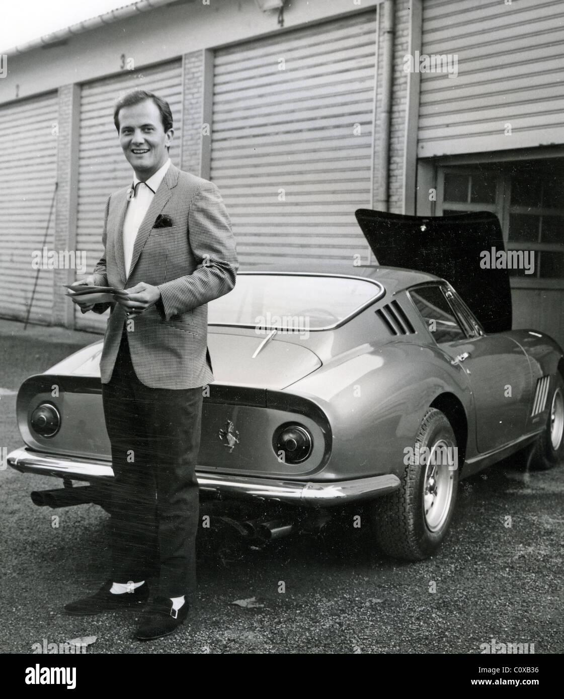 Photo of Pat Boone  - car