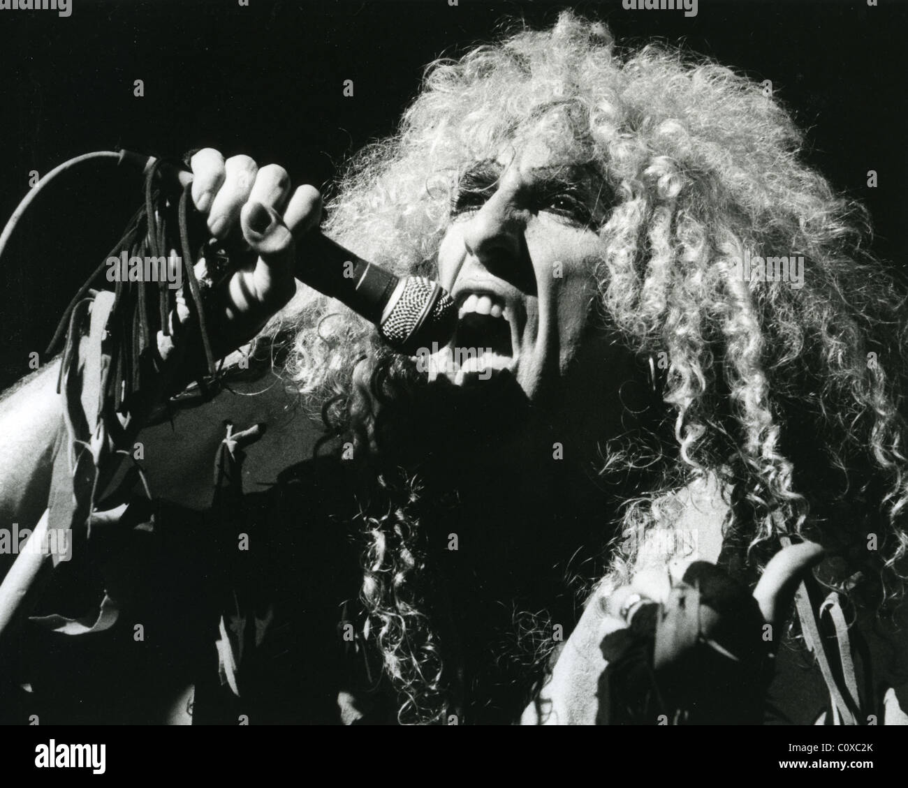 TWISTED SISTER - US rock group with Dee Snider in 1984. Photo Stephen Woodd - Stock Image