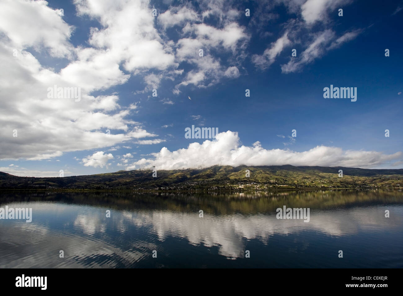 Lake San Pablo - near Otavalo, Ecuador - Stock Image