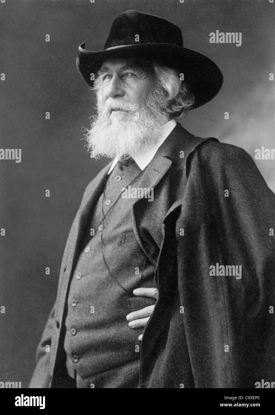 German biologist, zoologist, naturalist, philosopher, physician and artist Ernst Heinrich Philipp August Haeckel - Stock Image