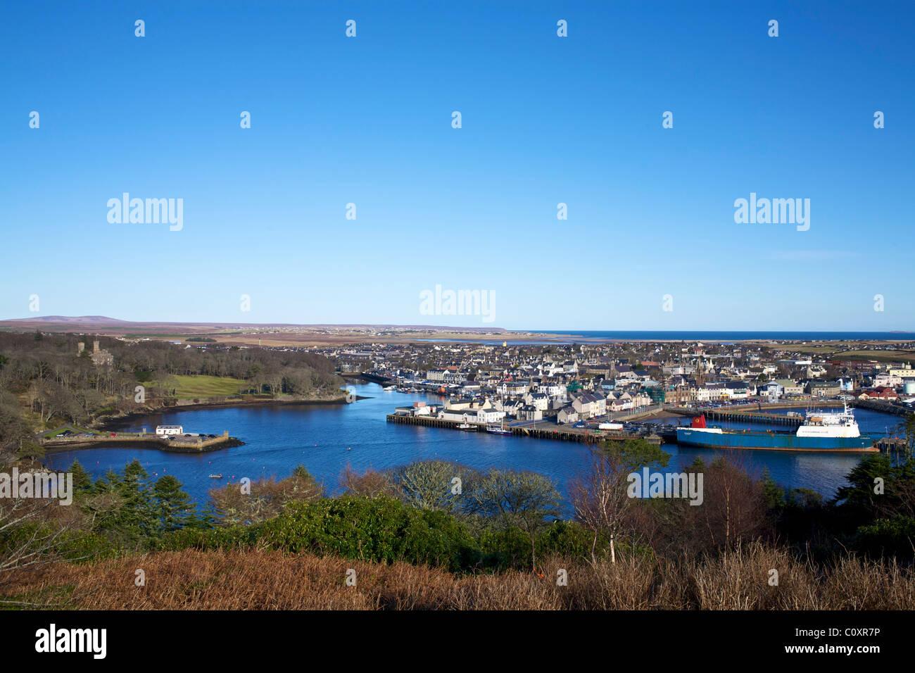 Stornoway , Isle of Lewis. - Stock Image