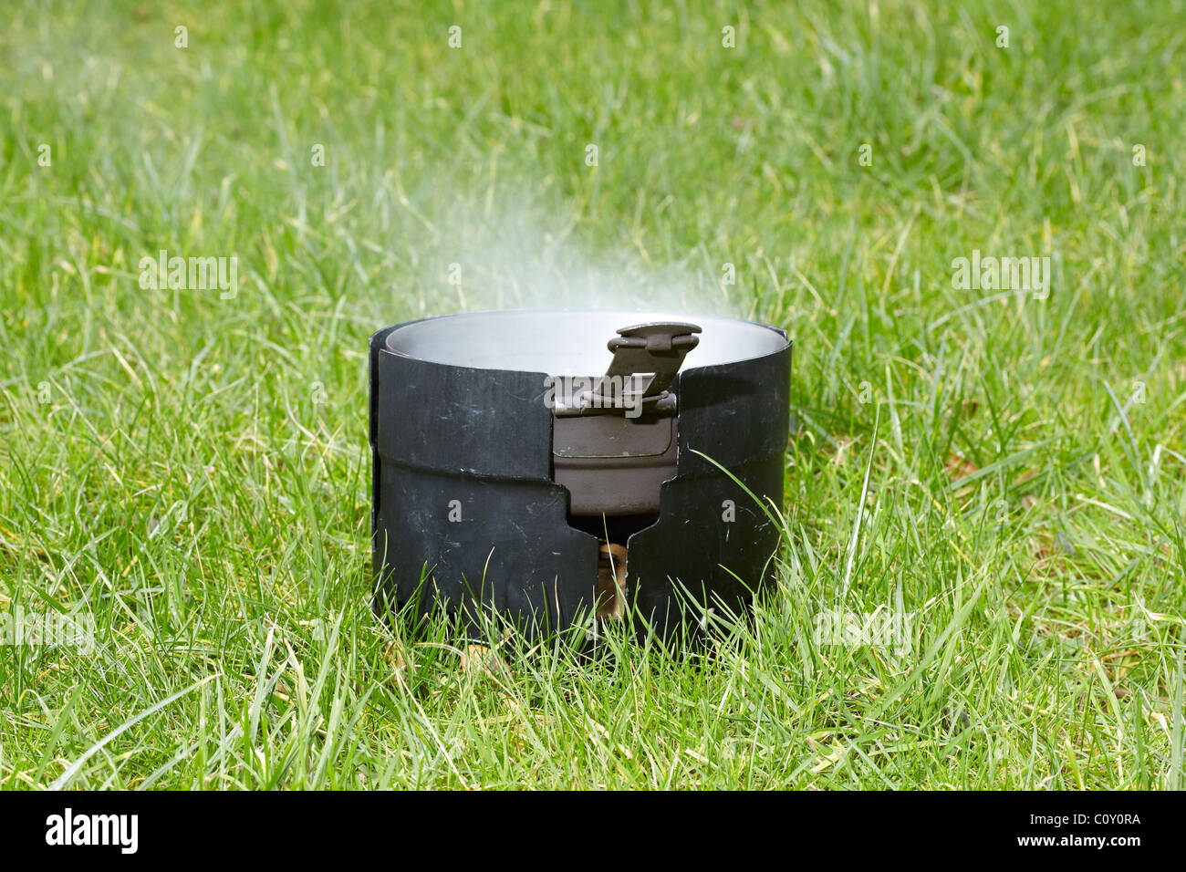 Swedish Army Tangia Mess Kit for cooking food - Stock Image