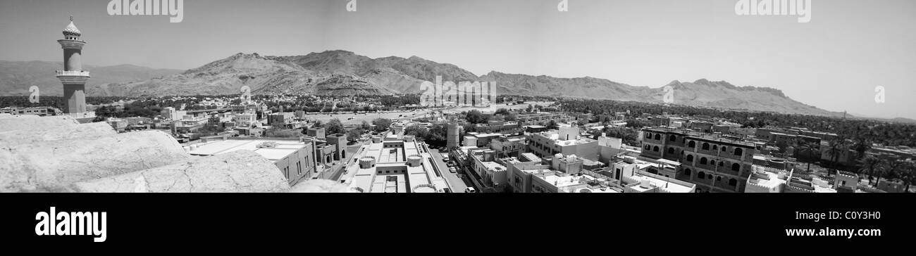Architecture Detail of Nizwa, Oman, Middle East - Stock Image