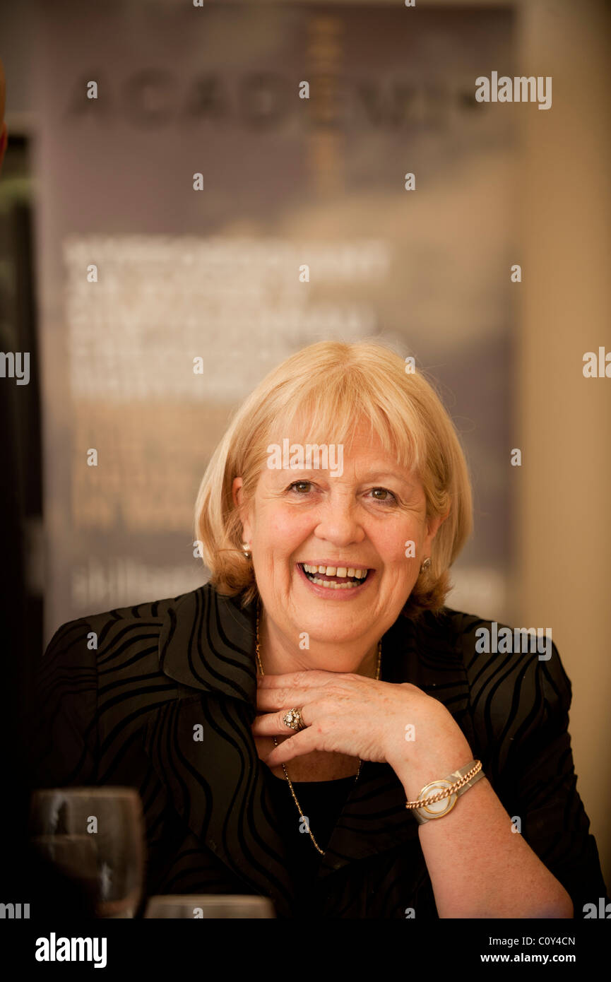 The Secretary of state for Wales Cheryl Gillan, 25 feb 2011 - Stock Image