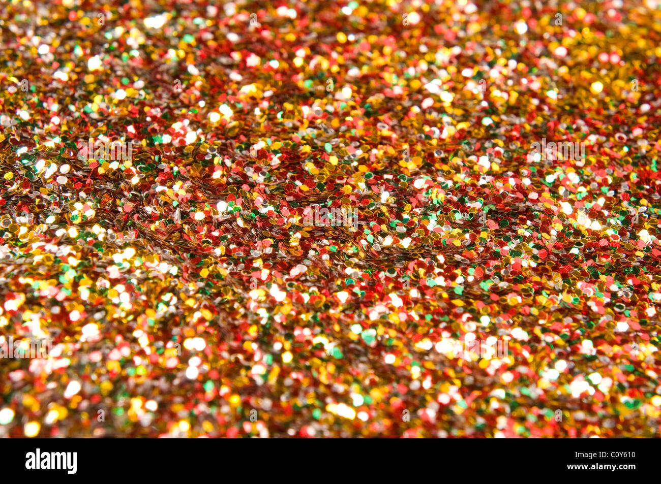 colorful confetti - Stock Image