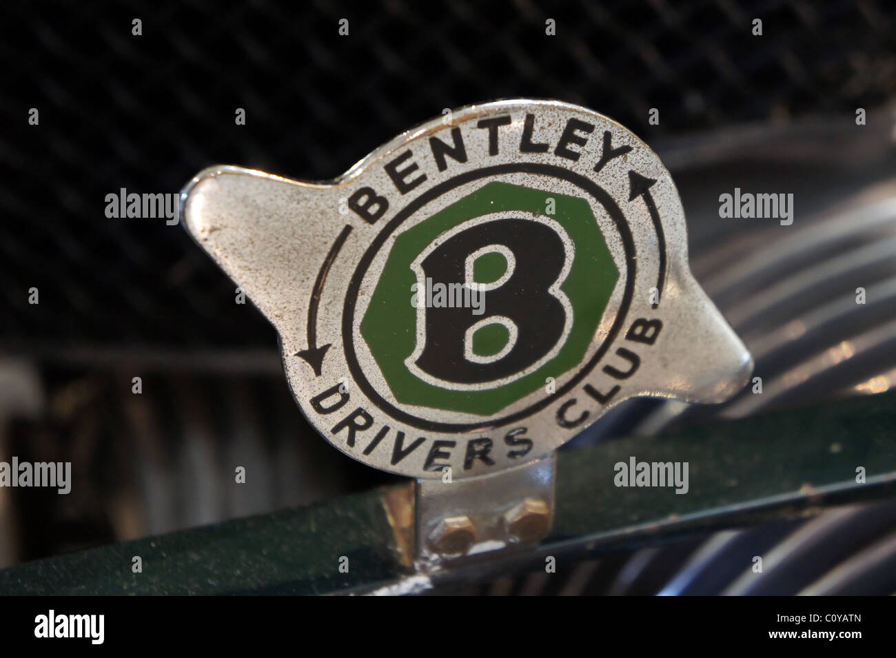 Bentley Drivers club badge - Stock Image