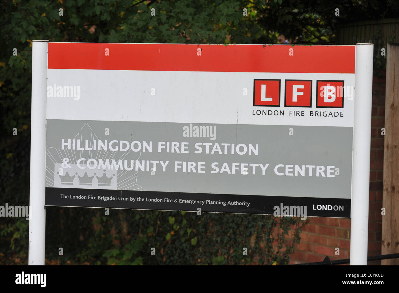 Hillingdon Fire Station & Community Fire safety centre - Stock Image